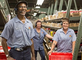 Distribution Center Team Members