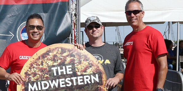 The winner of the Midwest Mystery Pizza Contest. Introducing the Midwestern.