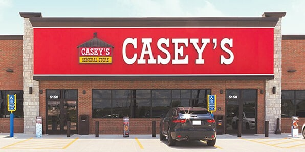 Casey's storefront