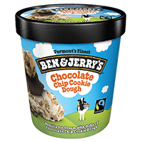 Ben & Jerry's Chocolate Chip Cookie Dough 16oz